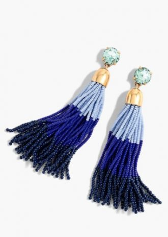 Tassel Earrings From J Crew