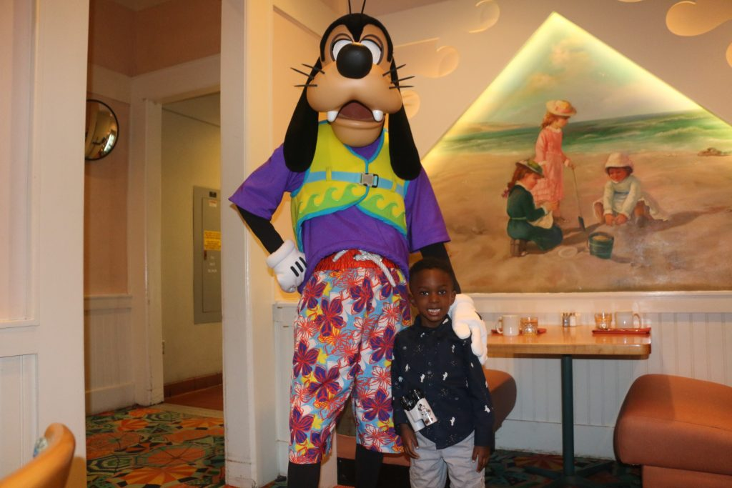 Disney's Breakfast With Characters at Disney's Yacht Resort