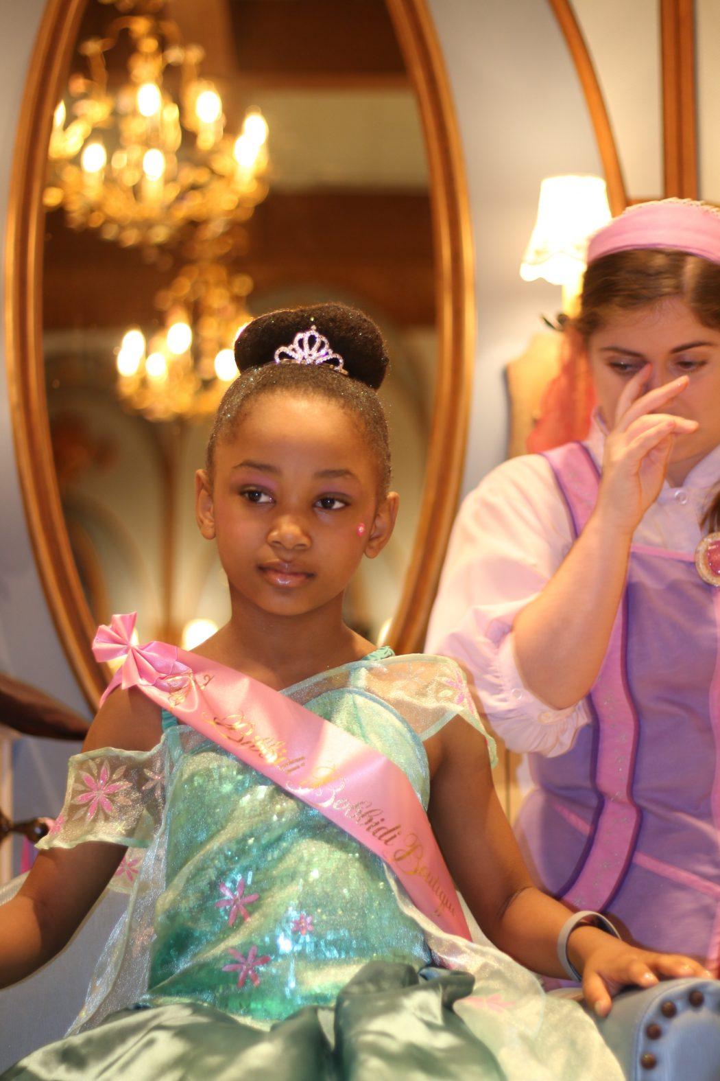 Princess Makeover at Disney Bibbidi Bobbidi Boutique