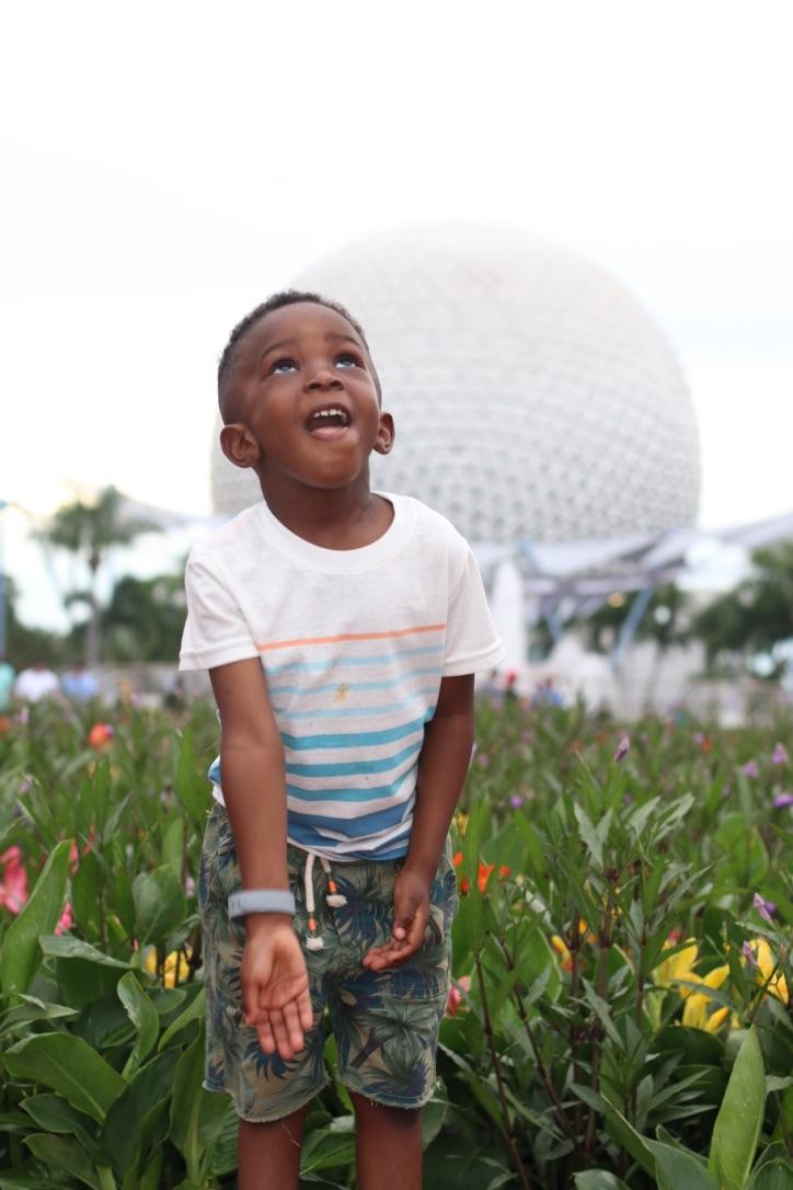 Walt Disney world with a preschooler Epcot