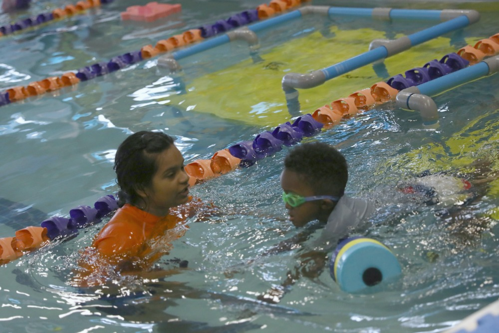 Making Progress at Goldfish Swim School