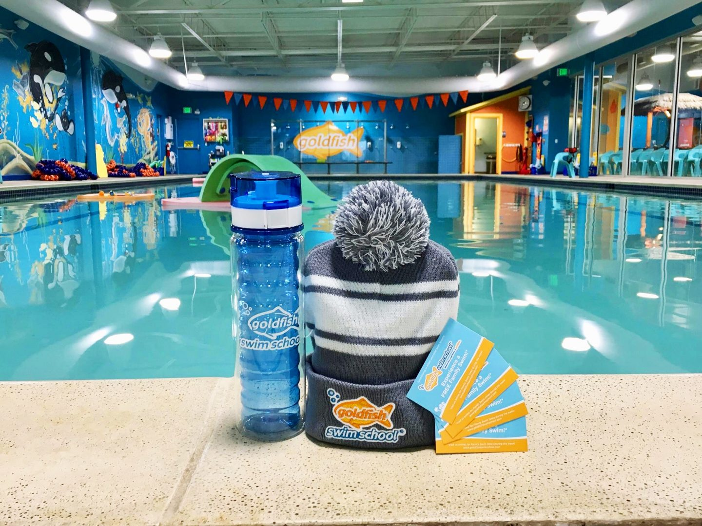 Give the Gift of Swimming Lessons + Giveaway