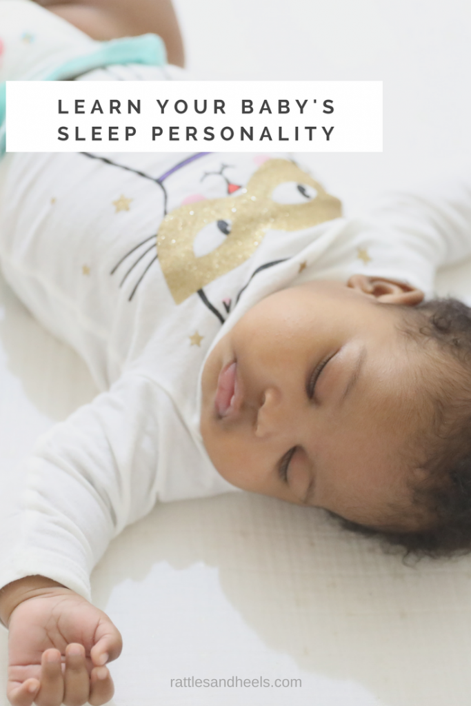 LEARN YOUR BABY'S SLEEP PERSONALITY