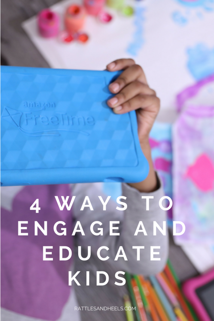WAYS TO ENGAGE AND EDUCATE