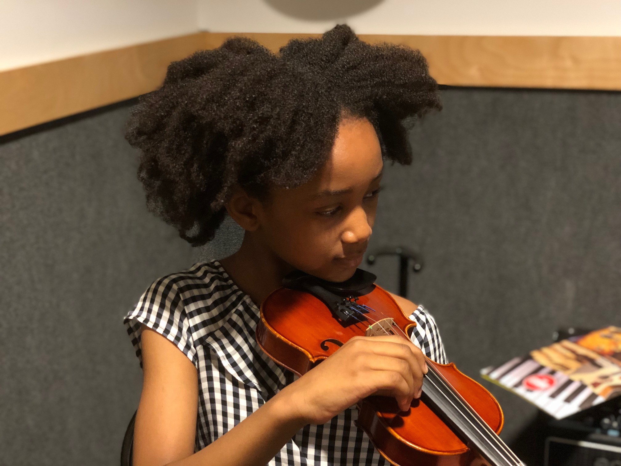 One Month Update: Violin Lessons at Guitar Center - Rattles