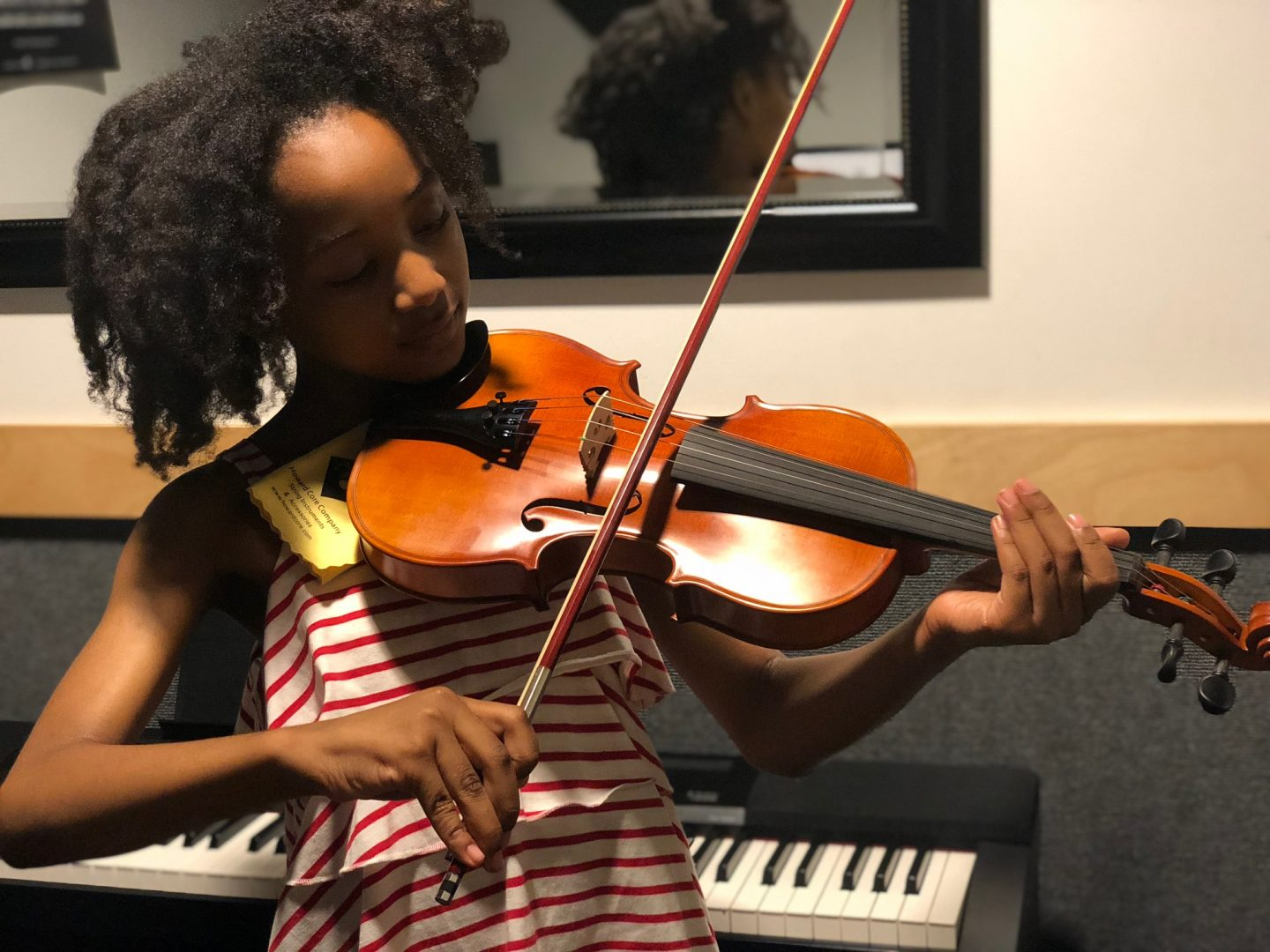 One Month Update: Violin Lessons at Guitar Center