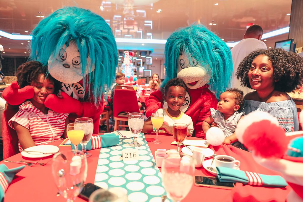 Carnival Cruises Green Eggs and Ham Breakfast
