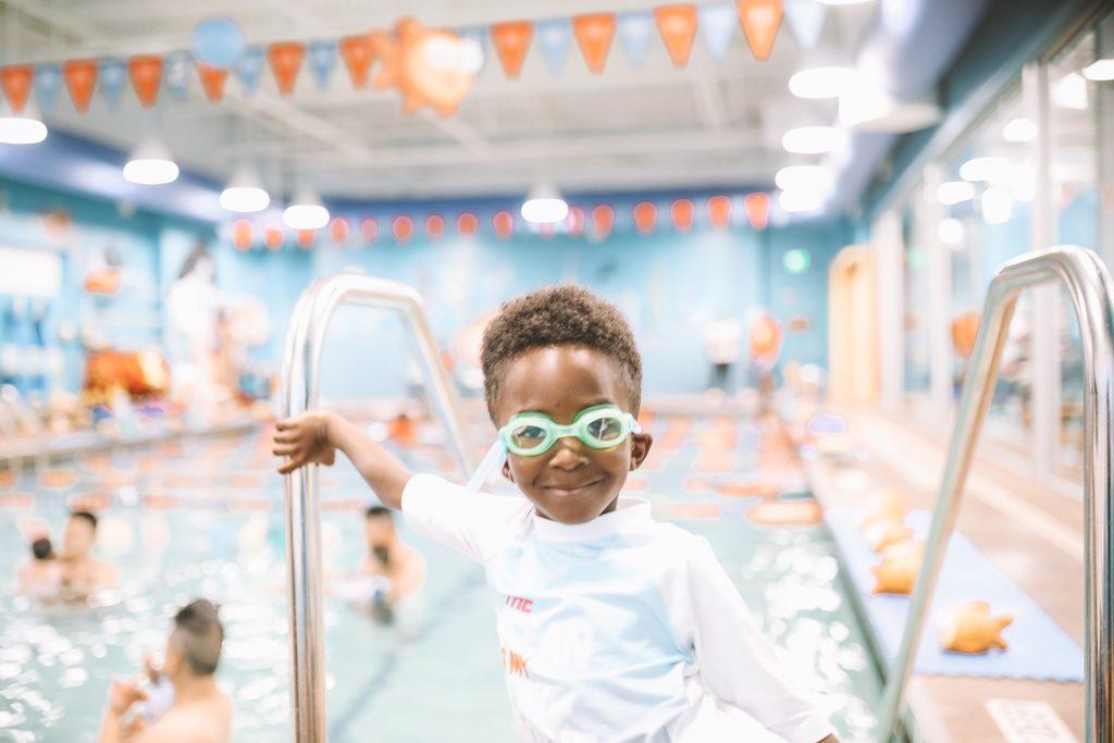Win FREE Kids Swimming Lessons   Goldfish Swim School Giveaway