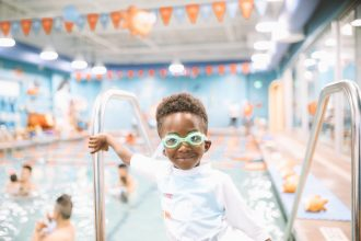 Win FREE Kids Swimming Lessons | Goldfish Swim School Giveaway