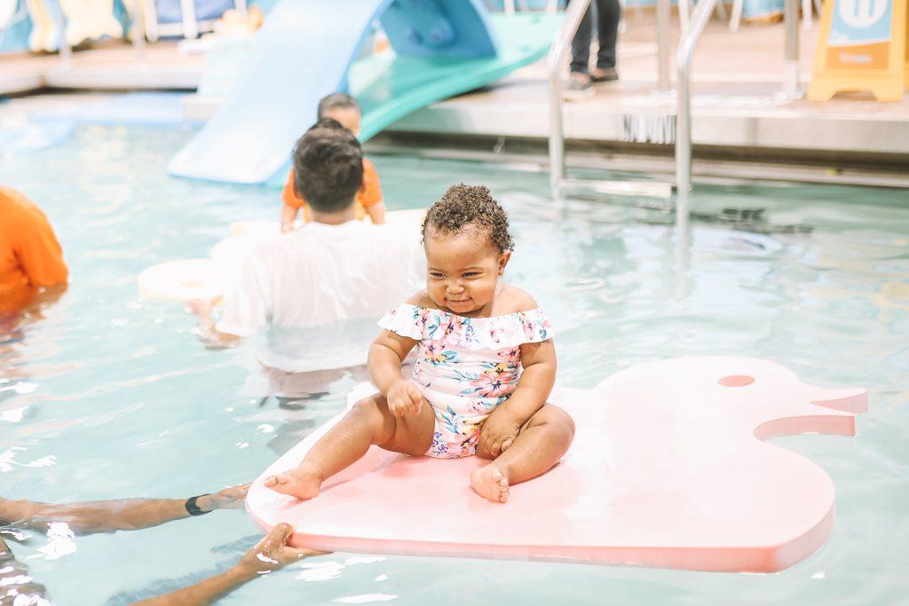 Baby's Swimming Lessons at Goldfish Swim Schoo