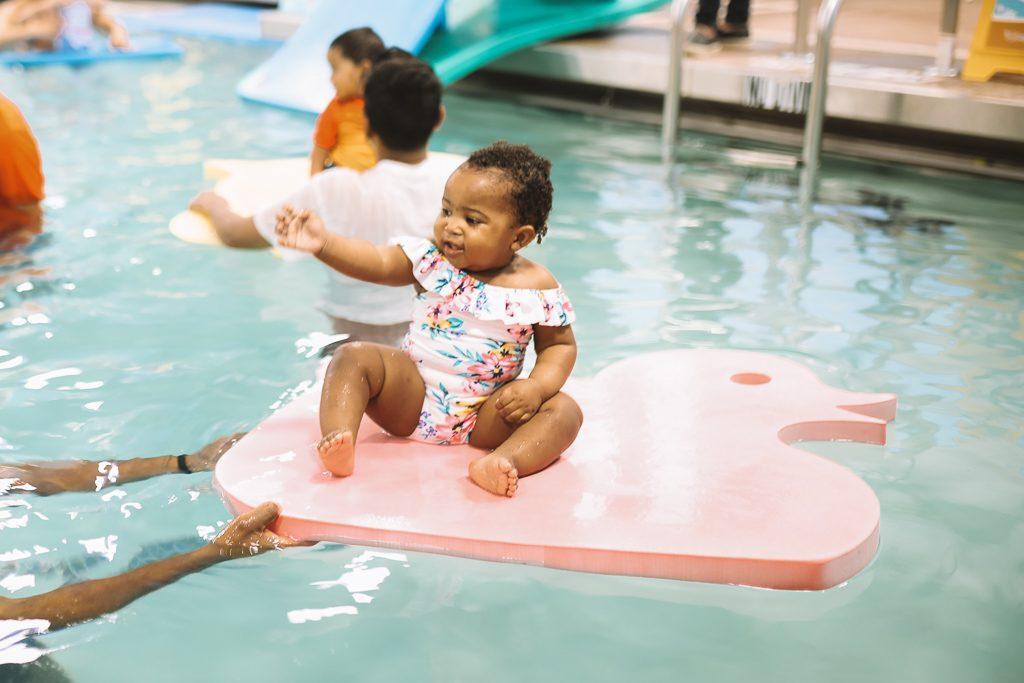 Swimming Lessons at Goldfish Swim School