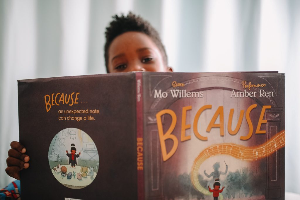 Mo Willems' New Book Because Inspires Us to Think About Our Because Moments