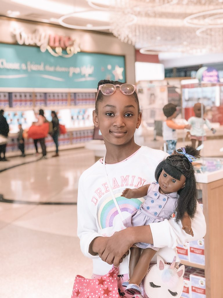 American Girl NYC Store: Doll Hair Salon and Dining Experience