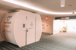Nursing at the Airport: My Mamava Breastfeeding Pods Experience