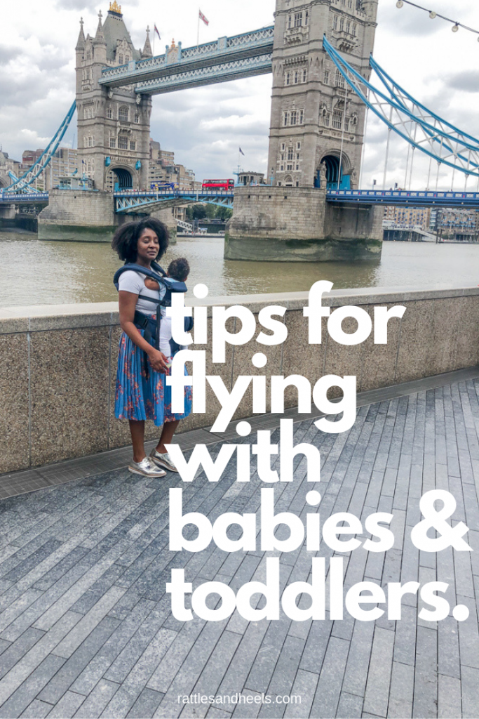 tips for flying with babies & toddlers.