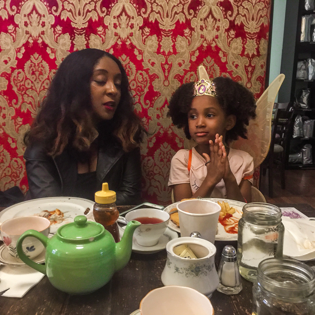 Our experience at Alice's Tea Cup with kids