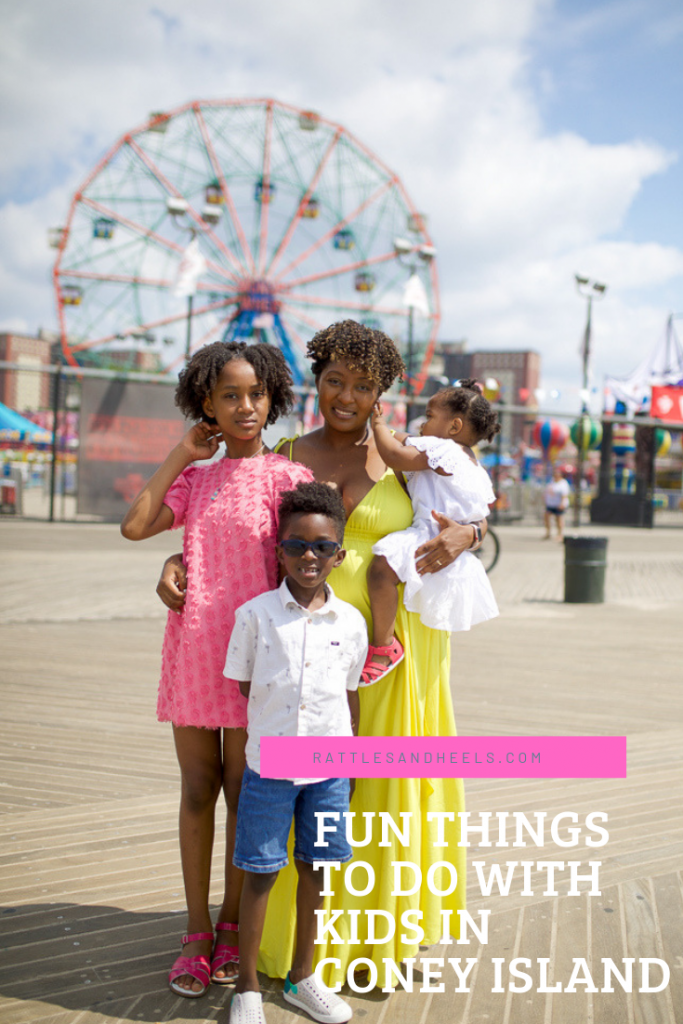 Rattles and Heels Coney Island with Kids