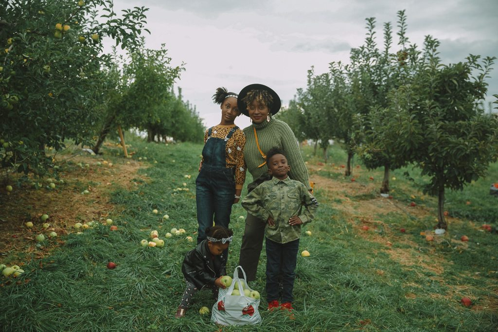 Apple picking near NYC + Fall Family Photos