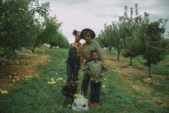Apple picking near NYC + Fall Family Photos